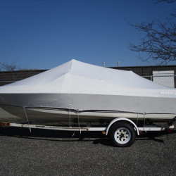 Boat Transport Shrink Wrap