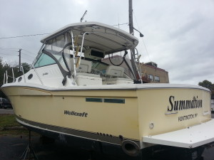 Wellcraft for sale Stern